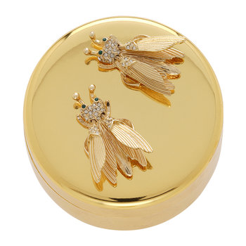 Gold Trinket Box - Flutterbys