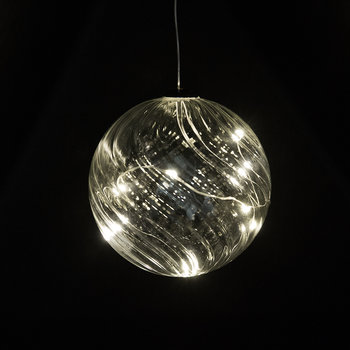 Wave Ball Hanging Light