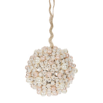 Pearl Cluster Christmas Tree Decoration - Mint Green