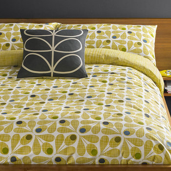 Acorn Cup Duvet Cover - Olive