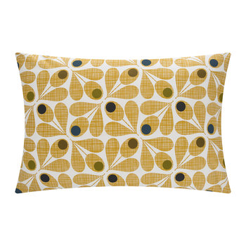 Acorn Cup Pillowcase - Olive - Set of 2