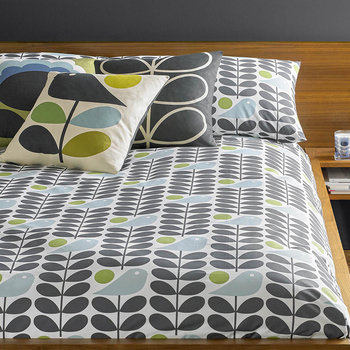 Early Bird Duvet Cover - Granite