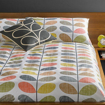 Scribble Stem Duvet Cover - Multi