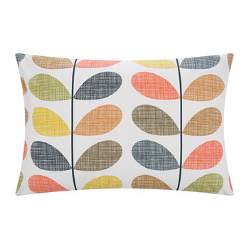 Scribble Stem Pillowcase - Multi - Set of 2
