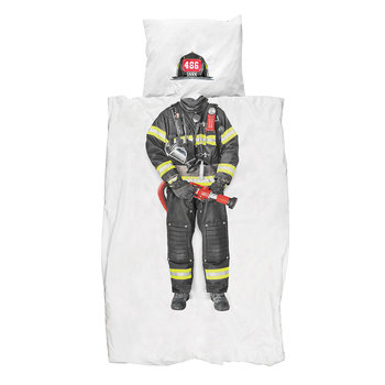 Firefighter Duvet Set - Twin