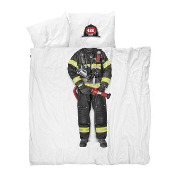 Firefighter Duvet Set - Queen