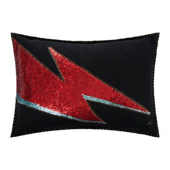 Glam Rock Pillow - Black