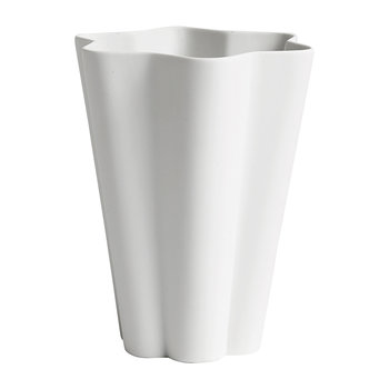 Large Iris Vase - Off-White
