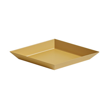 Kaleido Hexagon Tray - Extra Small - Light Amber