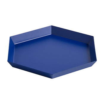 Kaleido Hexagon Tray - Small - Royal Blue