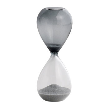 'Time' Hourglass - 3 Minutes - Silver