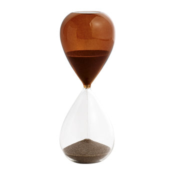 'Time' Hourglass - 15 Minutes - Burnt Orange