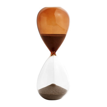 'Time' Hourglass - 30 Minutes - Burnt Orange