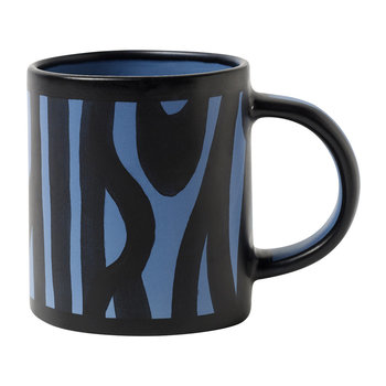 Wood Mug - Royal Blue