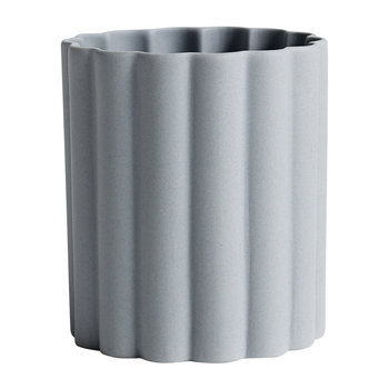 Iris Round Pen Holder - Grey