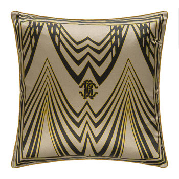 Deco Silk Cushion - Beige