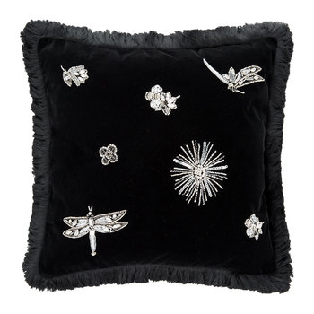 Diamonds Cushion - Black - 40x40cm