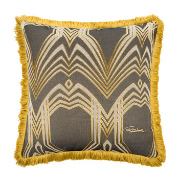 Deco Jacquard Cushion - 60x60cm - Beige