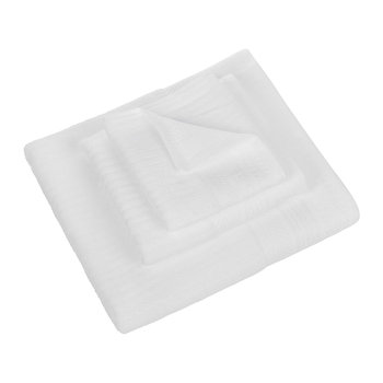 Solid Towel - White