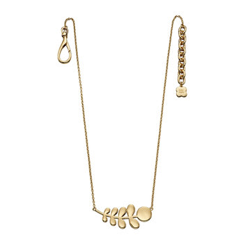 Buddy Stem Necklace - Gold Plated