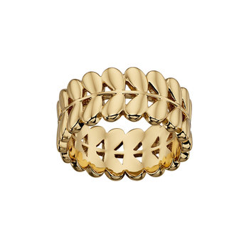 Gold Plated Buddy Leaf Ring