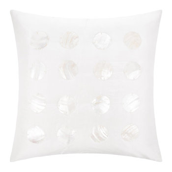 Ocala Silk Cushion - 45x45cm - Ivory