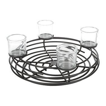Decorative Metal Candle Holder