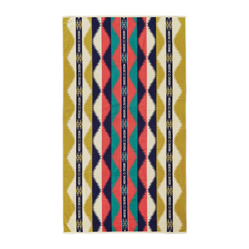Oversized Jacquard Beach Towel - Saguaro