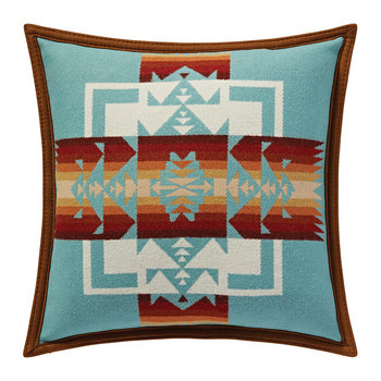 Chief Joseph Pillow - Aqua