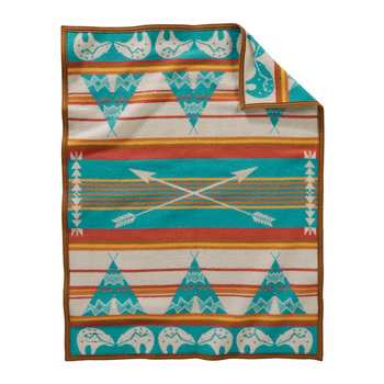 Muchacho Baby Blanket - Star Guardian Turquoise