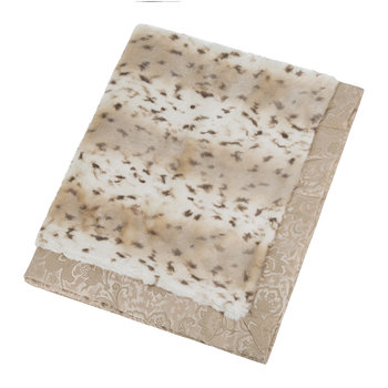 Turi Faux Fur Throw - 140x185cm