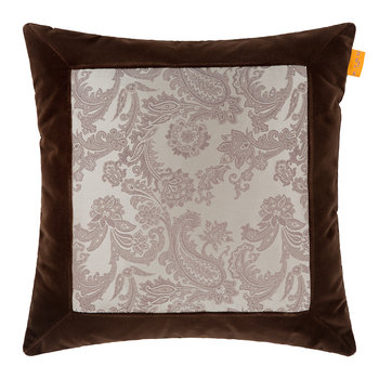 Lascari Cushion - 45x45cm - Chocolate