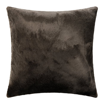 Huelva Faux Fur Cushion - 60x60cm - Mink