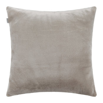 Sagy Faux Fur Cushion - 60x60cm - Blush
