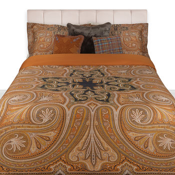 Cinisi Duvet Set - Super King - Brown