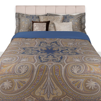 Cinisi Bed Set - Super King - Indigo