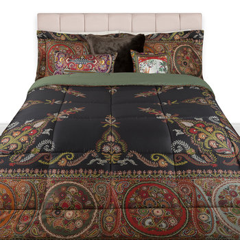 Pollina Quilted Bedspread - 270x270cm - Chocolate