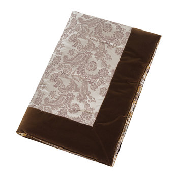 Lascari Quilted Throw - 140x140cm - Chocolate