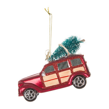 Noble Gems Woodie Car Tree Decoration