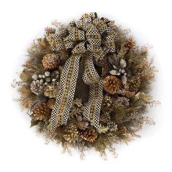 Precious Metals Large Wreath