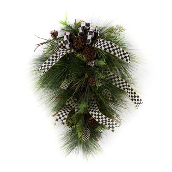 Underpinnings Vertical Hanging Wreath