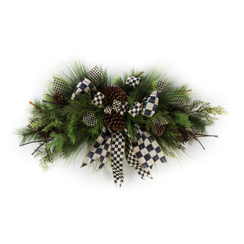Underpinnings Horizontal Hanging Wreath