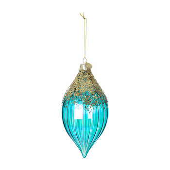 Blue & Gold Ombre Tree Decoration