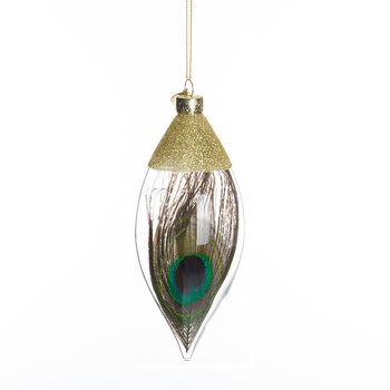 Gold Peacock Tree Decoration