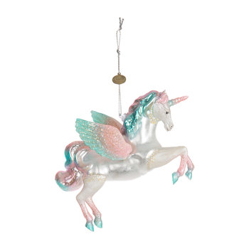 Unicorn Tree Decoration - Pink/Blue