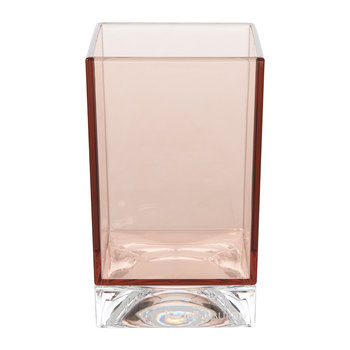 Square Toothbrush Holder - Nude Pink