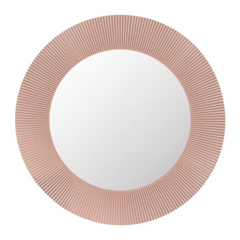 All Saints Round LED Mirror - Nude Pink