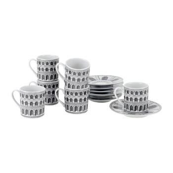 Architettura Coffee Cups - Set of 6