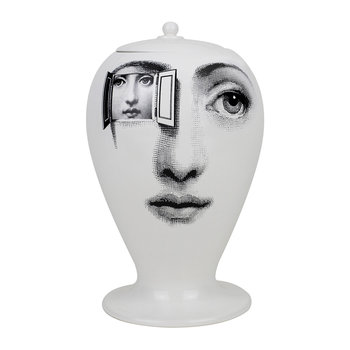 Alla Finestra Vase - Black/White