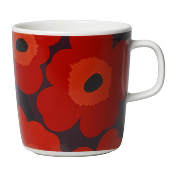Unikko Mug - Red/Navy